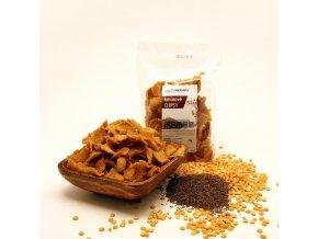 kminové chipsy