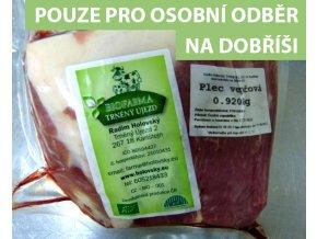 Vepřová plec BIO Farma Trněný Újezd