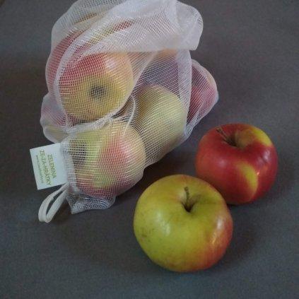 3x Látkový pytlík na zeleninu + 1 ZDARMA