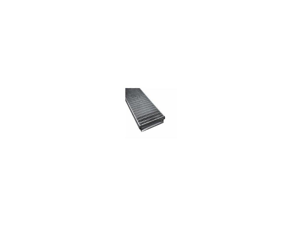 Terasový nášlapný kanál RNF-AL-05-20-FF-DT