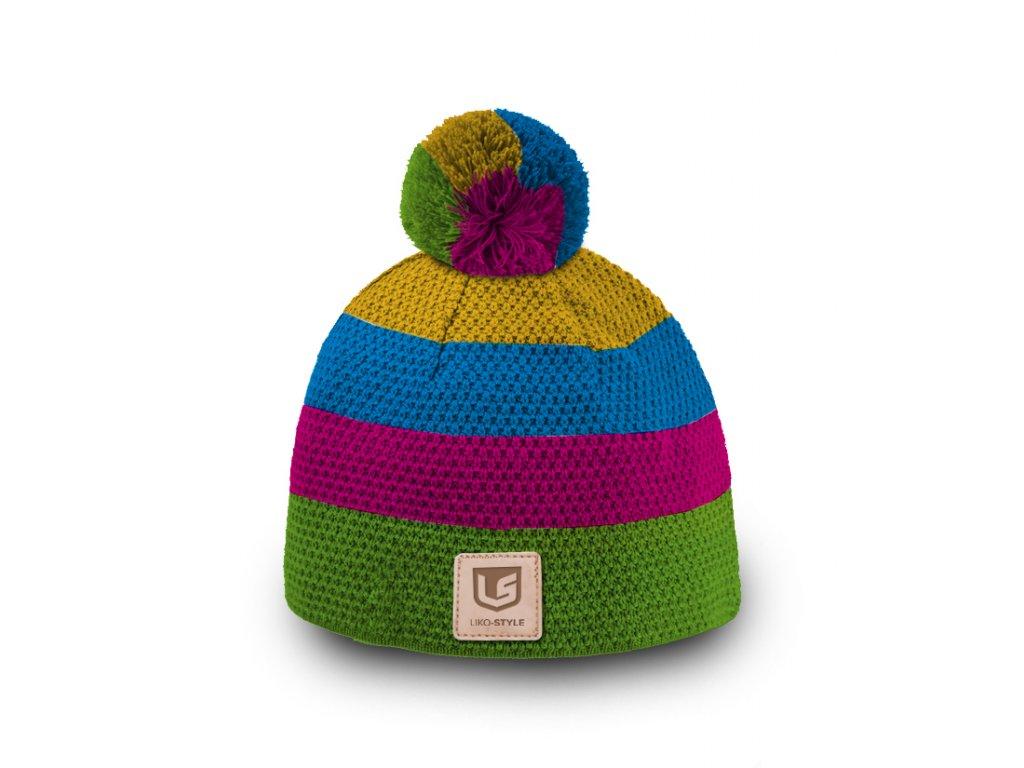 Pletená čepice LIKO-Style