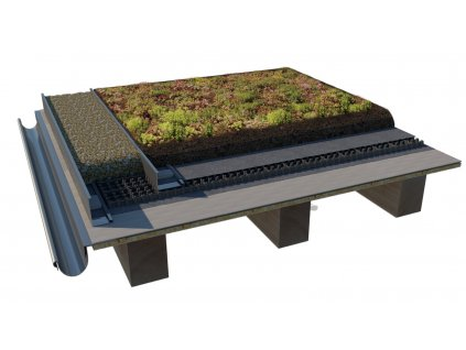 zelena strecha standard