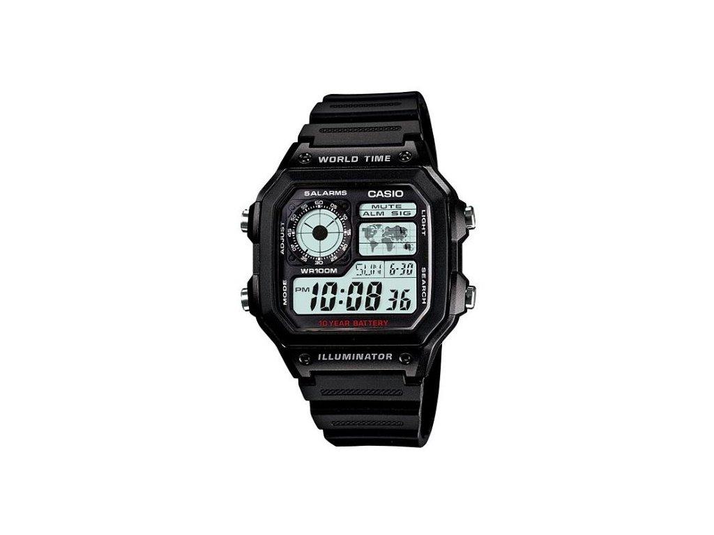 Pánské hodinky Casio AE-1200WH-1A