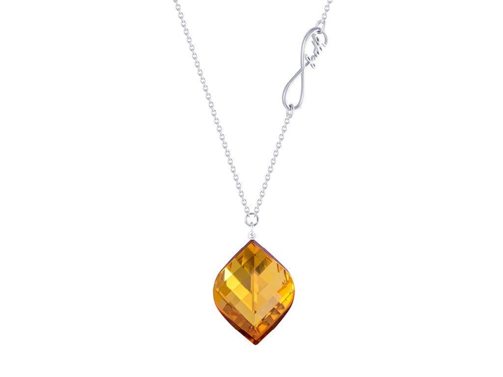 Stříbrný náhrdelník Preciosa 6025 61