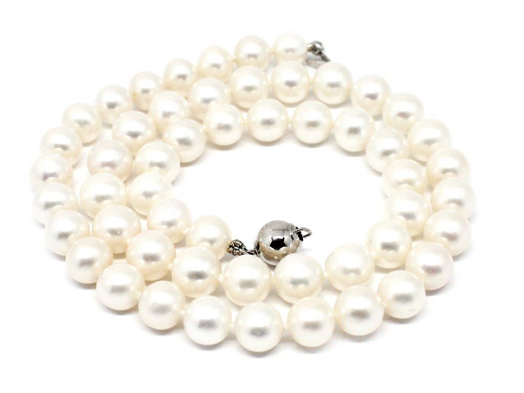 Perlový náhrdelník sladkovodní perly 40cm