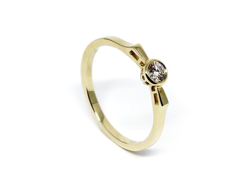 Alo diamantový prsten 0,17ct Alice
