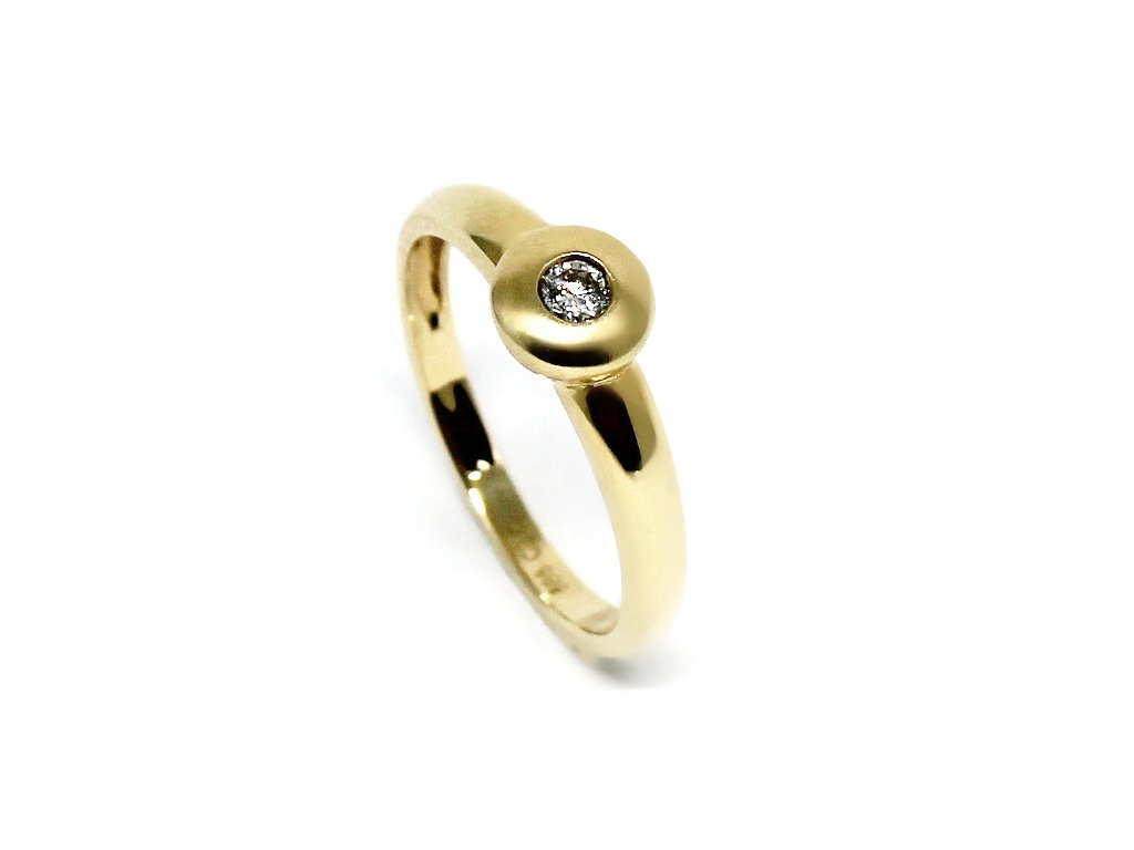 Diamantový prsten 0,065ct Dream