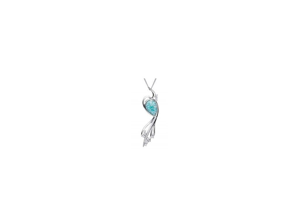 preciosa elegantni nahrdelnik matrix tyrkys 6109 24 1447184920180117124035