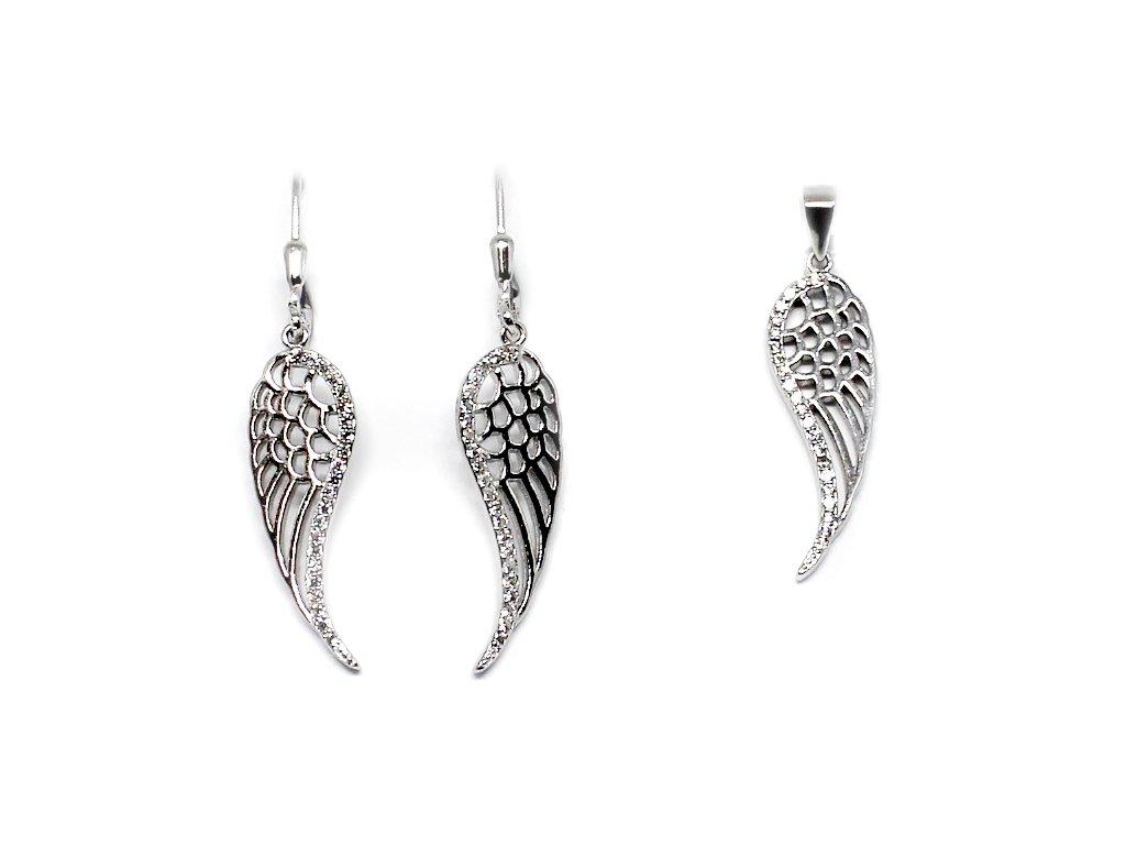 Andělská křídla souprava