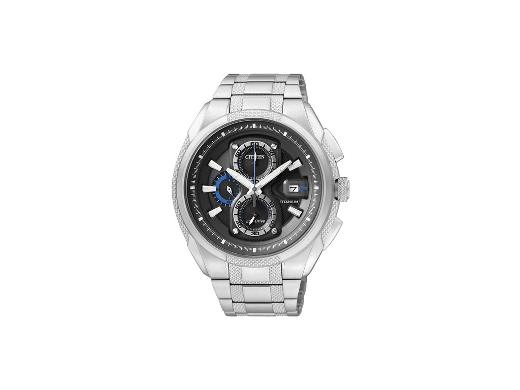 Pánské hodinky Citizen Eco-Drive Super Titanium CA0200-54E