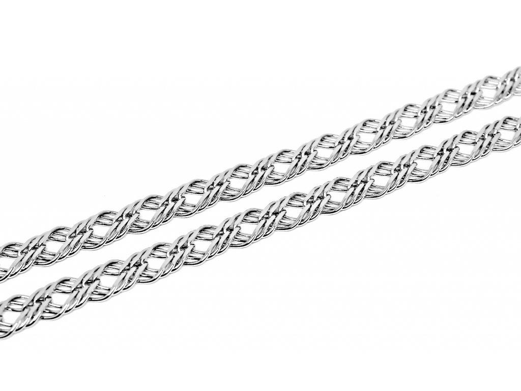 Stříbrný řetízek Rombo 45/50cm