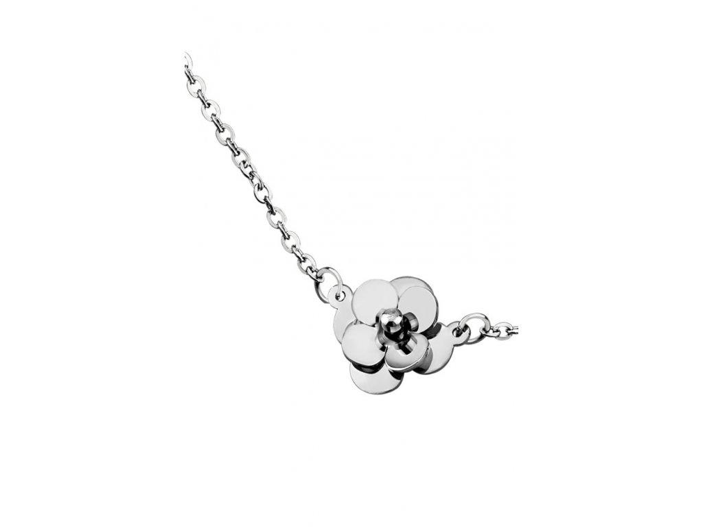 Ocelový náhrdelník Lotus Style LS1506-1/1