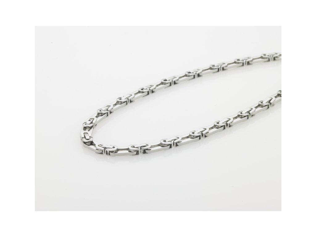Ocelový náhrdelník Storm Jolt Necklace Silver