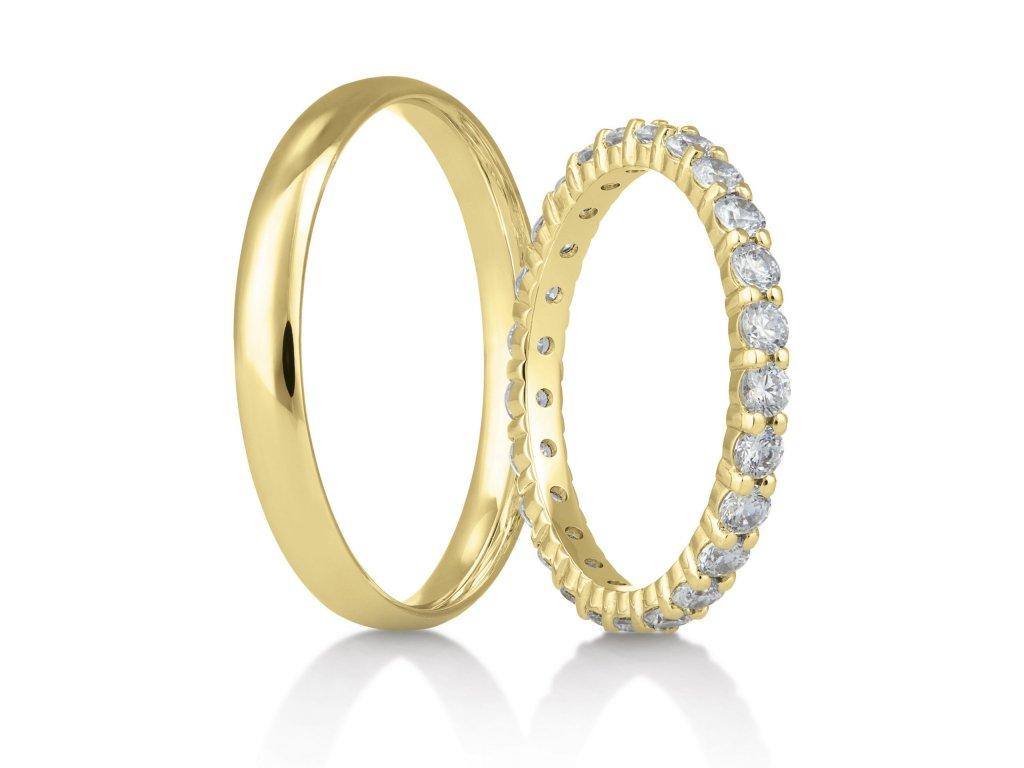 Snubní prsteny Rýdl 337/04