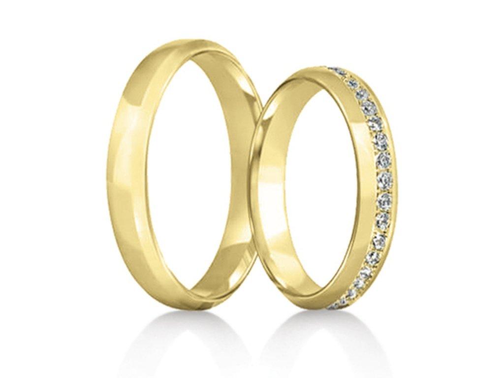Snubní prsteny Rýdl 282/02