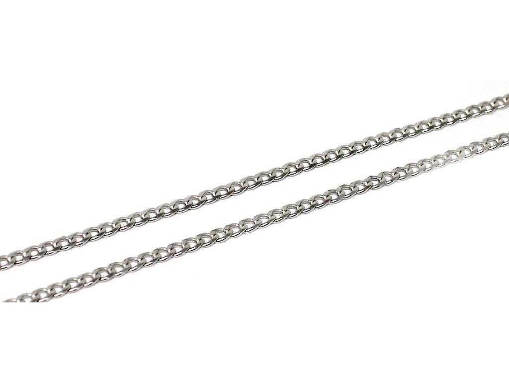 Stříbrný řetízek Pancer 45cm