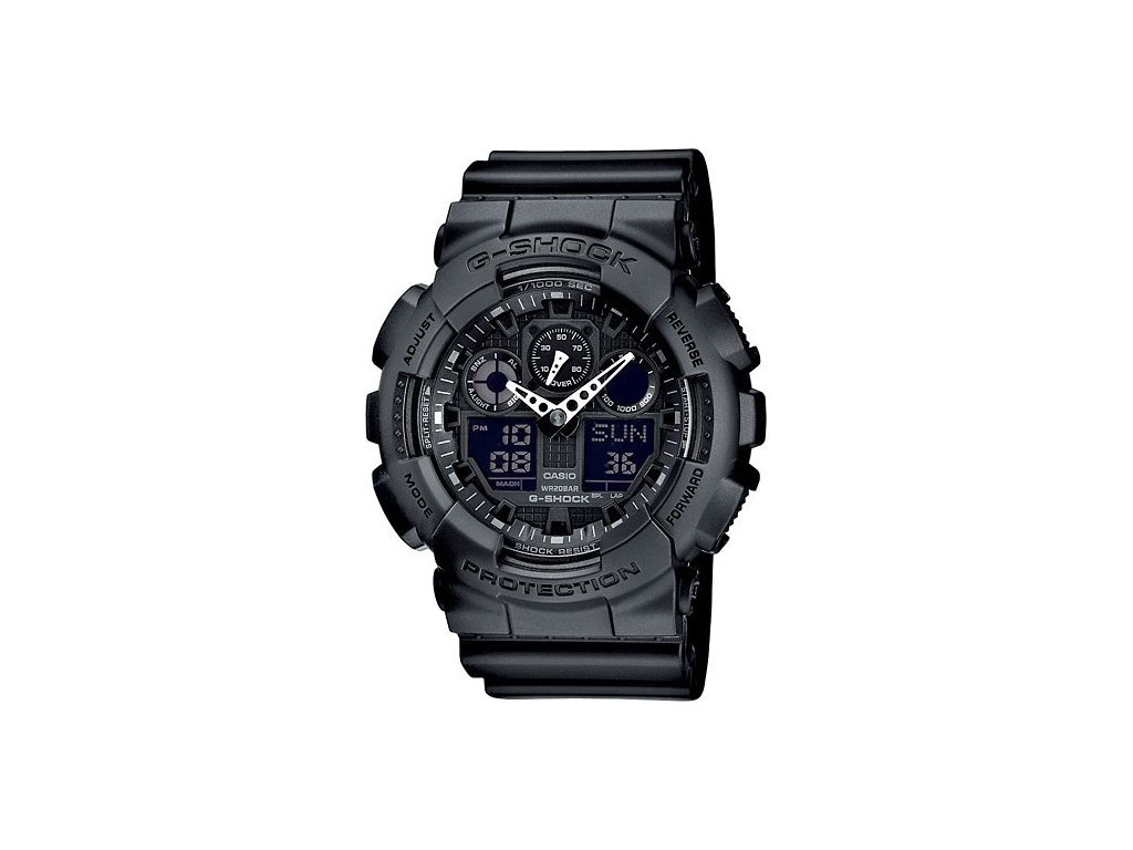 Pánské hodinky Casio GA-100-1A1 23bc6812ba1