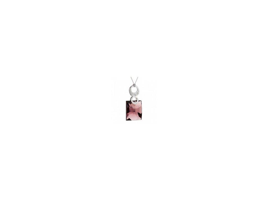 Stříbrný přívěsek Preciosa Romantique 6677 56