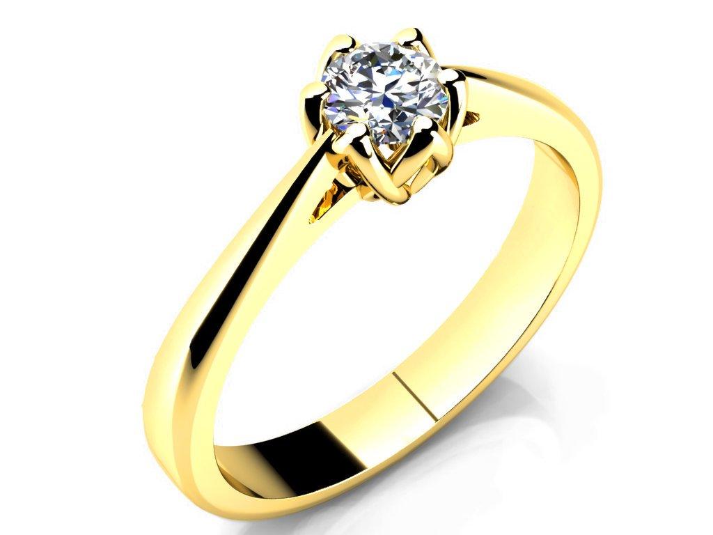 Zasnubni Prsten Love 049