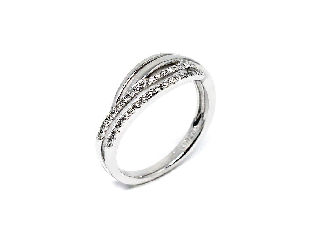 Diamantový prsten 0,18ct Anja