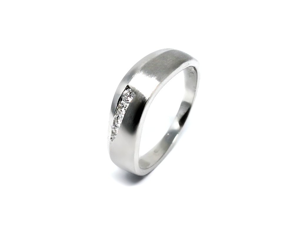 Alo diamantový prsten 0,10ct Lana