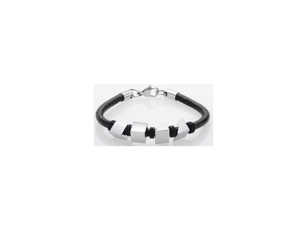 Ocelový náramek Storm Argo Bracelet Black
