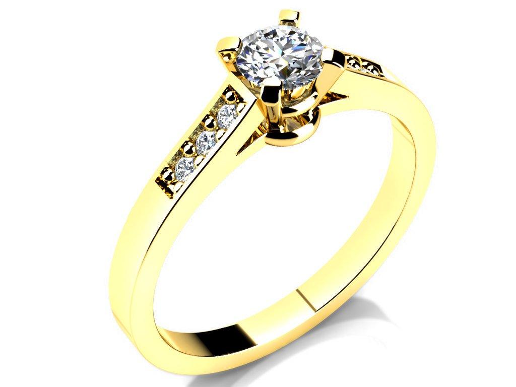 Zasnubni Prsten Love 015