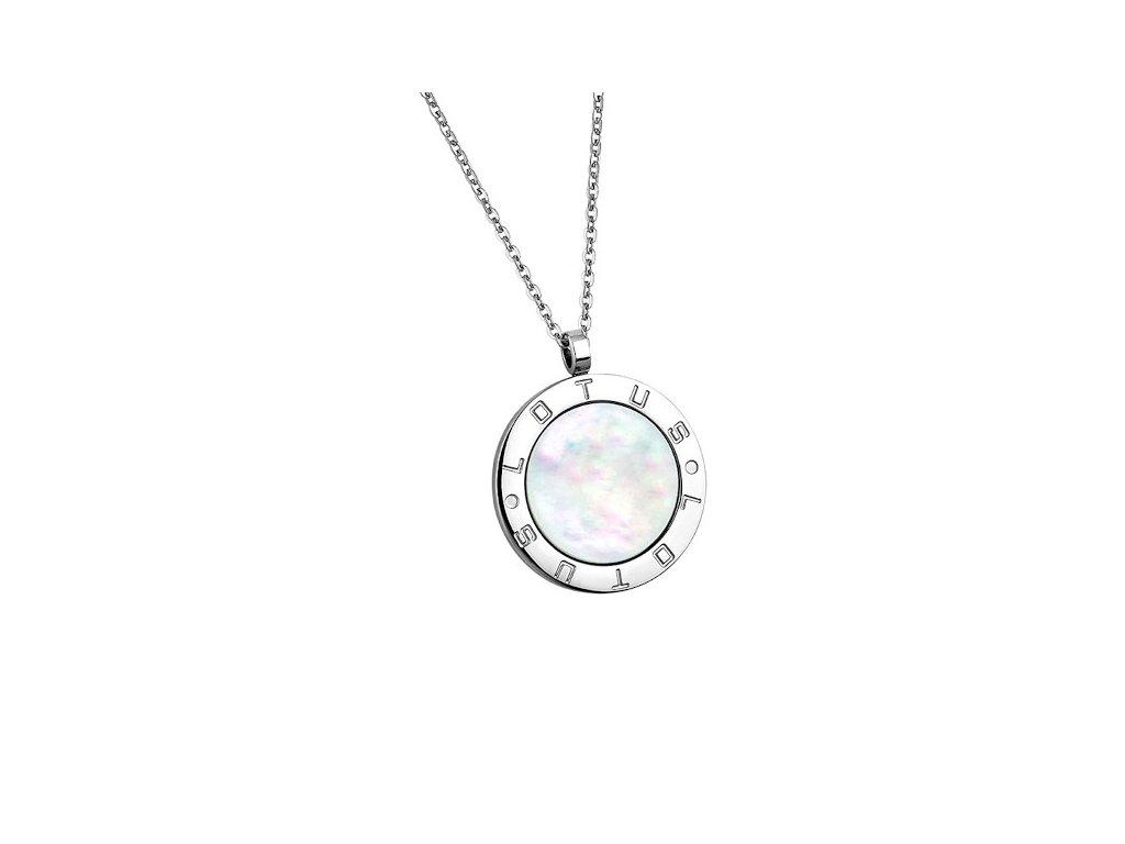 Ocelový náhrdelník Lotus Style LS1752-1/1