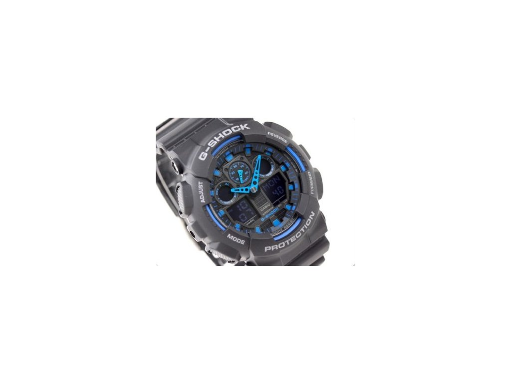9743b26f4b9 Pánské hodinky Casio GA-100-1A2