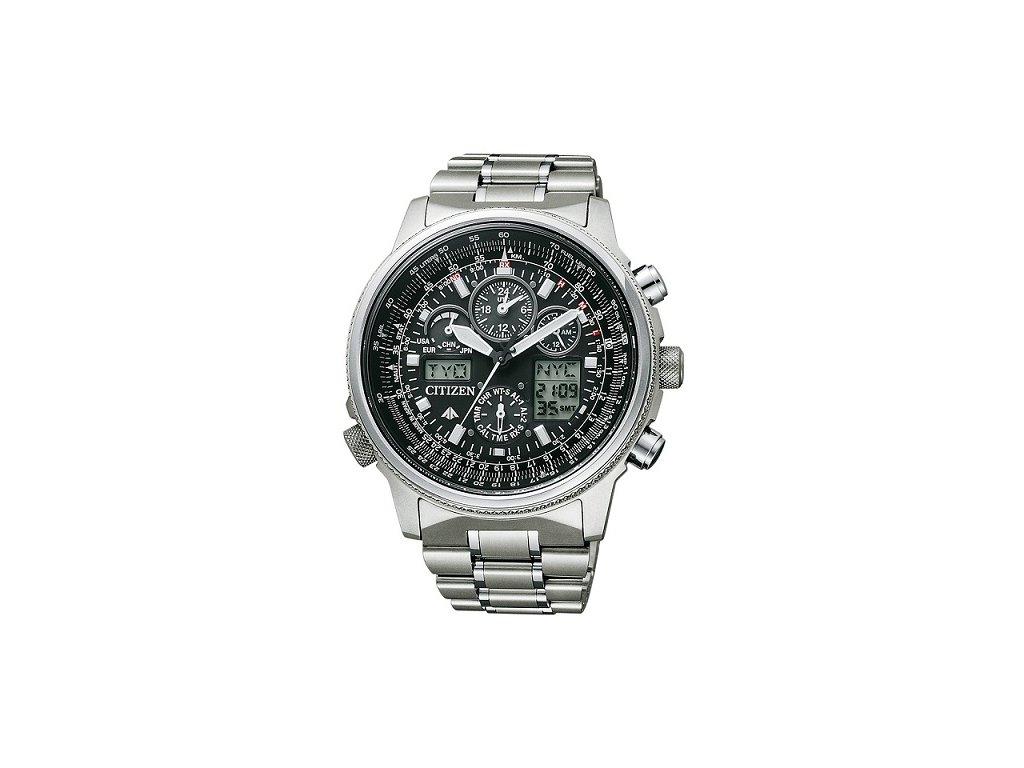 Pánské hodinky Citizen Eco-Drive Pilot Global RC JY8020-52E
