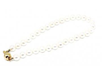 Perlový náramek ze sladkovodních perel