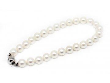Perlový náramek sladkovodní perly 21cm