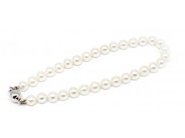Perlový náramek sladkovodní perly 18cm