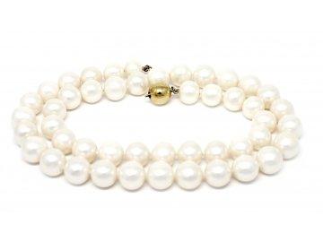 Perlový náhrdelník sladkovodní perly 45cm