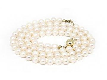 Perlový náhrdelník mořské perly 41cm