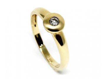 Diamantový prsten 0,10ct Dream