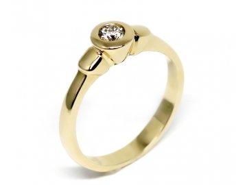 Alo diamantový prsten 0,17ct Eida