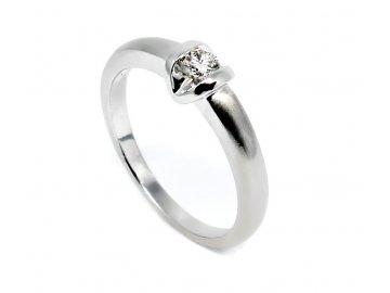Diamantový prsten 0,14ct