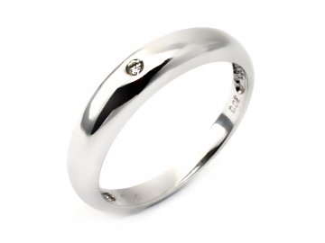 Alo diamantový prsten 0,02ct