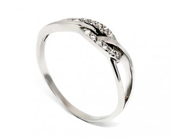 Diamantový prsten 0,12ct