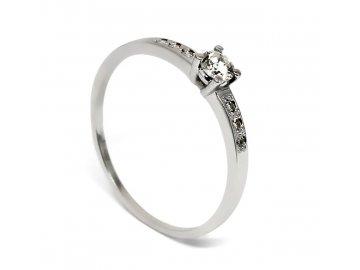 Diamantový prsten 0,253ct Lucie