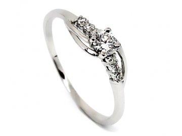 Diamantový prsten 0,34ct Sofie
