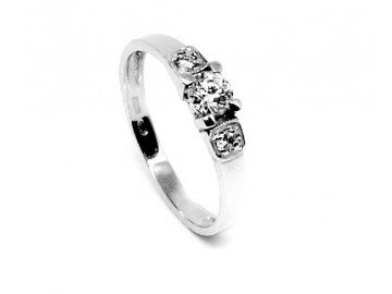 Diamantový prsten 0,313ct Ela