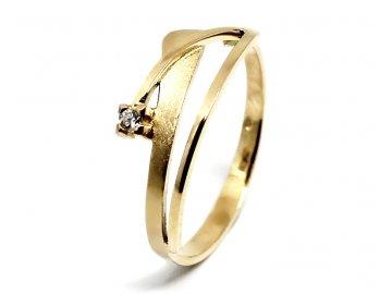 Diamantový prsten 0,025 ct