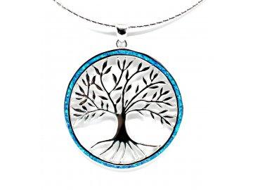 Strom života s opálem 5cm