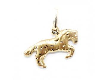 Zlatý přívěsek kůň 08/241/0060