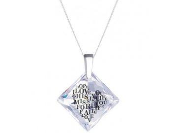 preciosa stribrny nahrdelnik s krystalem libi 6061 00 1443365320170531061521