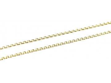 Zlatý řetízek Anker 45/60cm