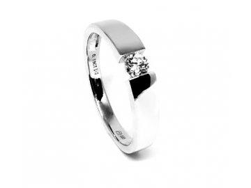 Diamantový prsten 0,19ct Alhena