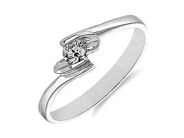 491 alo zasnubni diamantovy prsten bile zlato 0 12ct claudie
